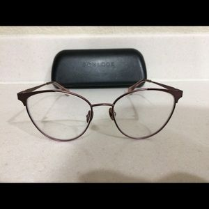 Bonlook eyeglass Frames 52[]17-140 edgy pink